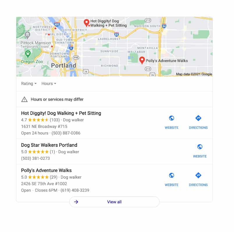 google business places for pet businesses